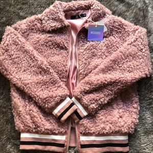 (NWT) MissGuided Sherpa Teddy Jacket!